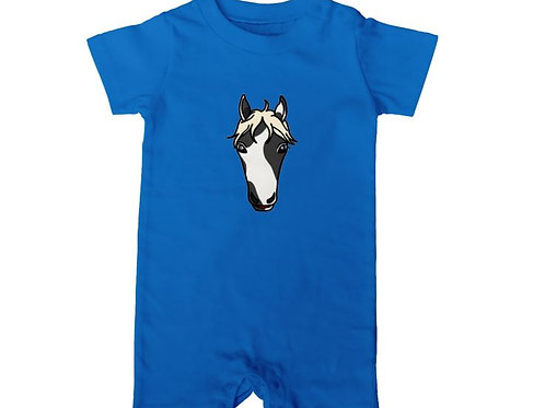 The American Paint horse : baby rompers