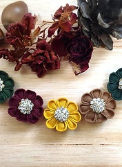 🍁Autumn bloomer Earrings 🍁 Swarovski crystal ver. 🍁