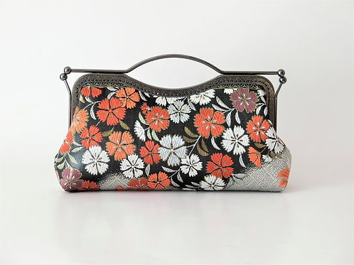 Frame clutch bag : Nadeshiko pattern