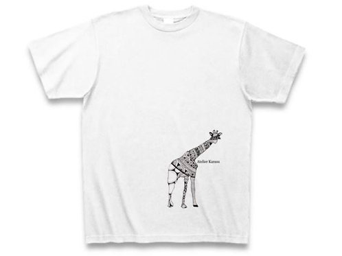 T-shirt ;  4 types of animals