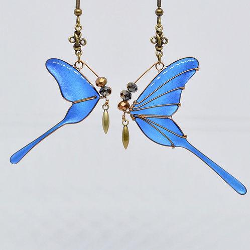 Normal model metallic blue