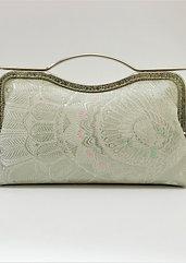 Frame clutch bag : Housouge pattern