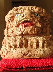 "Wood carving ""The Shishi"""