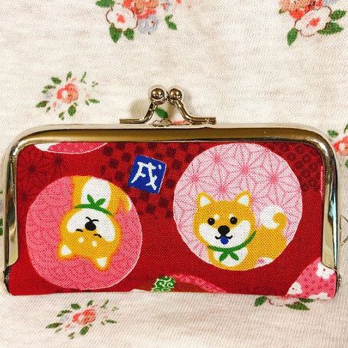 Flame coin purse : Shiba Inu