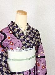 Casual Kimono☆Murasaki