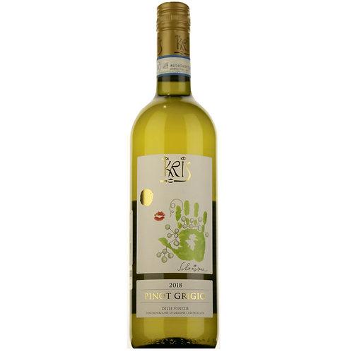 Vynas (balt)  KRIS Pinot Grigio Delle Venezie 750 ml