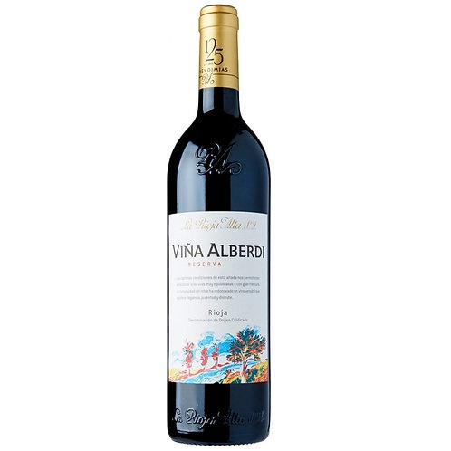 Vynas (raud)  La Rioja Alta Alberdi Reserva Rioja 750 ml