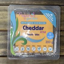 Vegan Cheddar Style Cheese
