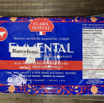 Emmental Cheese (Whole)
