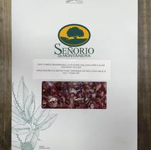 Dry Cured Iberian Bellota Pork Salchicon Slices