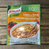 Tomato Based Elbow Pasta Soup