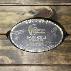 Baby Eels In Olive Oil
