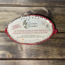 Octopus In Galician Sauce