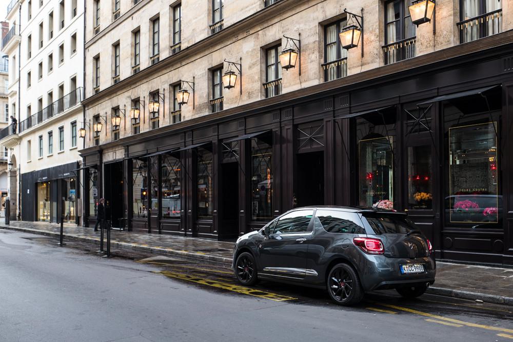 DS 3 Performance Line - auf der Straße / Paris