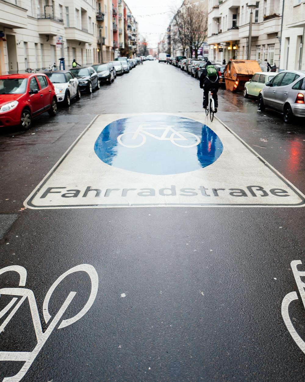 Fahrradstraße Choriner Straße