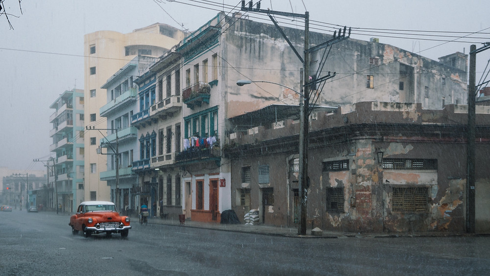Der Regen in Havanna