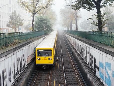 Wo die U-Bahn zur Hochbahn wird