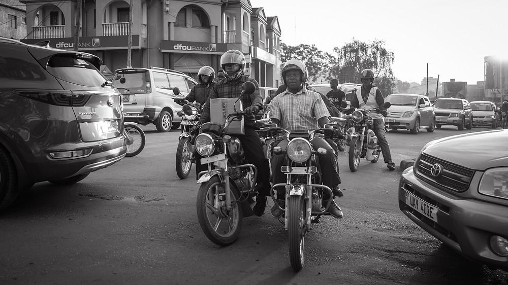 Bodaboda in Kampala