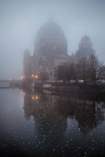 Foggy Berlin Cathedral