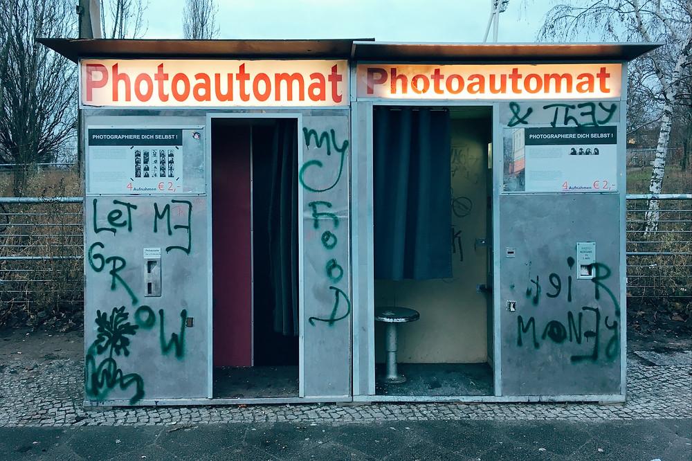 Photoautomaten am Mauerpark
