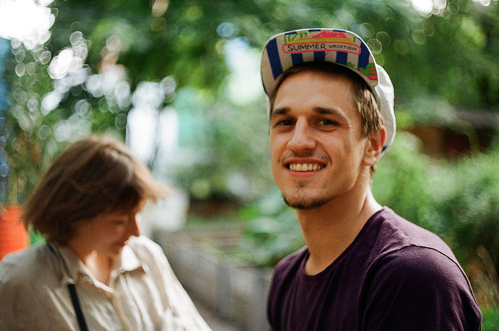 Wojciech - portrait of a young man