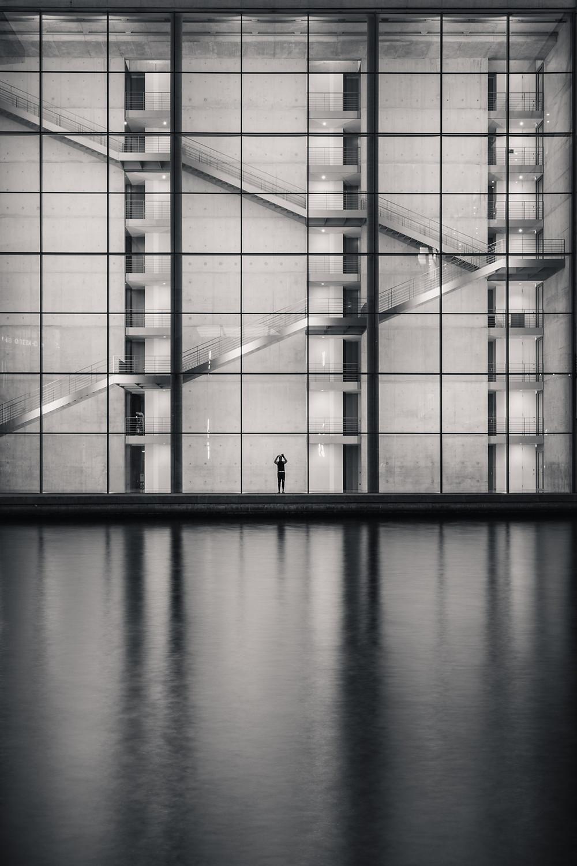 Glasfassade / Paul-Löbe-Haus