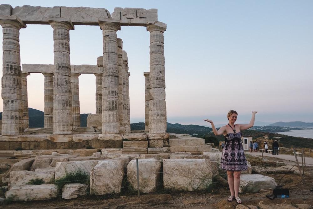 Tempel des Poseidon / Kap Sounion