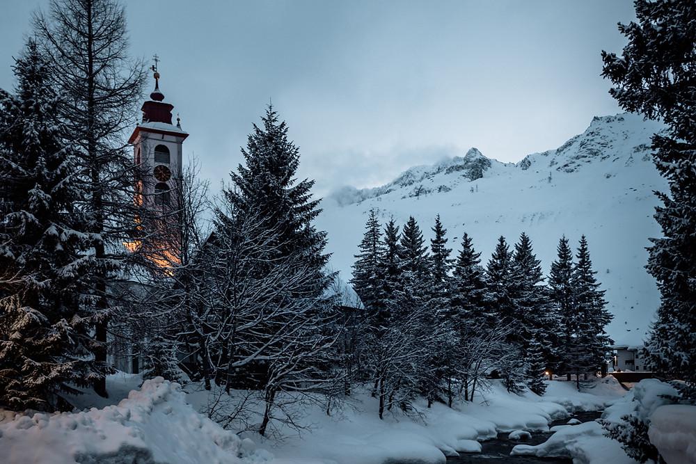 Andermatt im Schnee