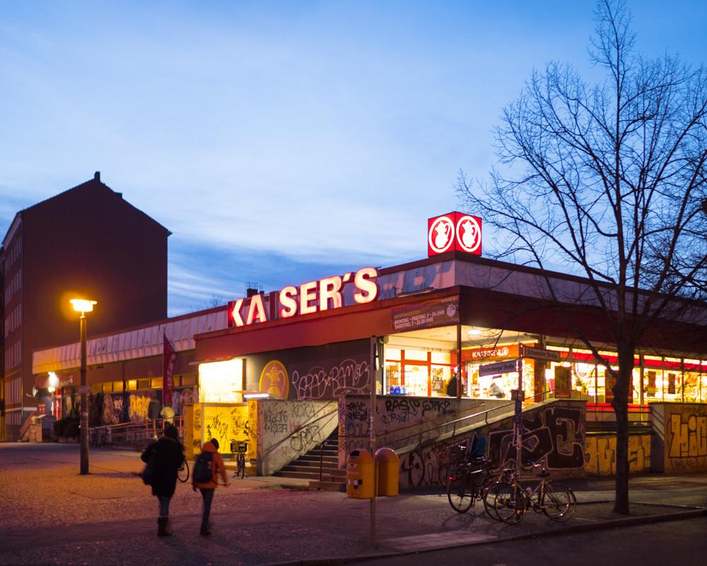 Die letzten Tage des Kaiser's Schwedter Straße