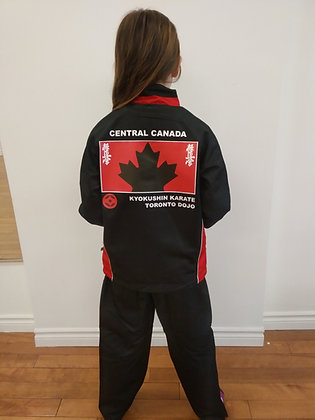 Central Canada Team Track Suit, Toronto Dojo