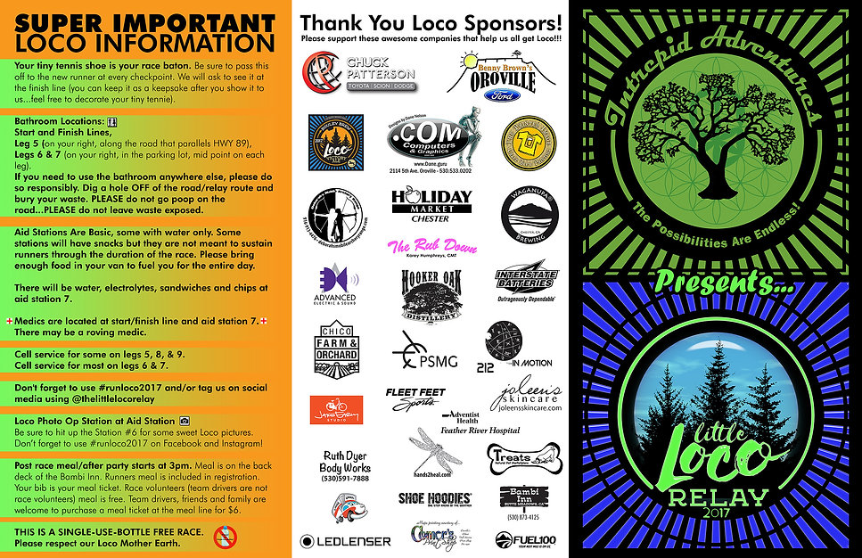 The totally awesome Loco Map 2016!