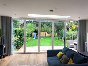 Soft Furnishing Solutions for Bi-Fold Doors