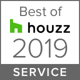 'Best of Customer Service 2019 awarded by Houzz!