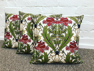 ARTS & CRAFTS STYLE CUSHIONS