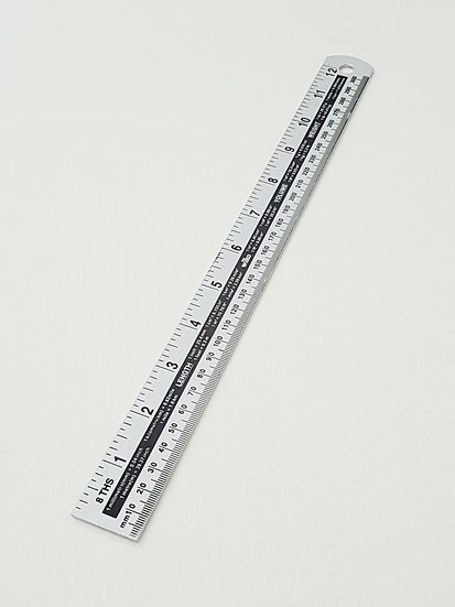 Metal One Metre Ruler