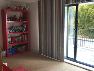 VIBRANT STRIPY ROMAN BLINDS