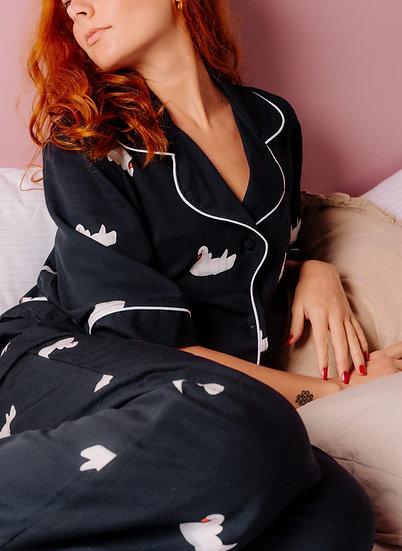 Pijama Lago dos Cisnes