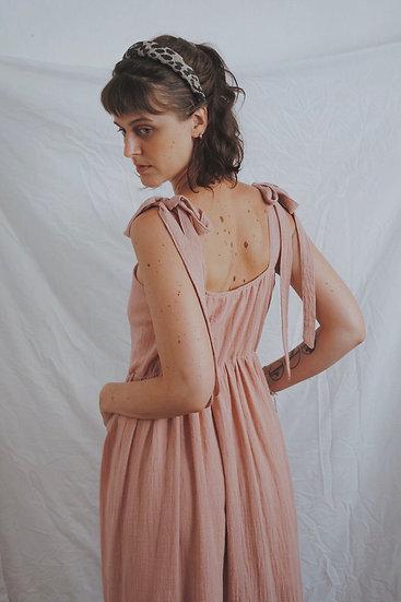 Vestido Picnic Rosê