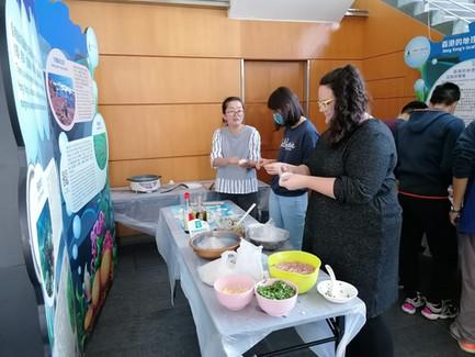 Dumplings Workshop at the MSL CNY Party 2020