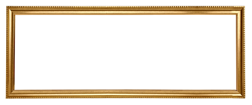 Золотая рамка прямоугольник