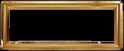 ゴールド額縁矩形