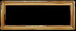 retrato do ouro quadro retângulo
