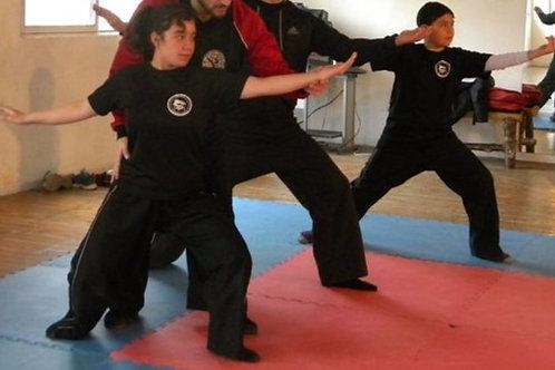 Pantalón de Kung Fu negro (niños)