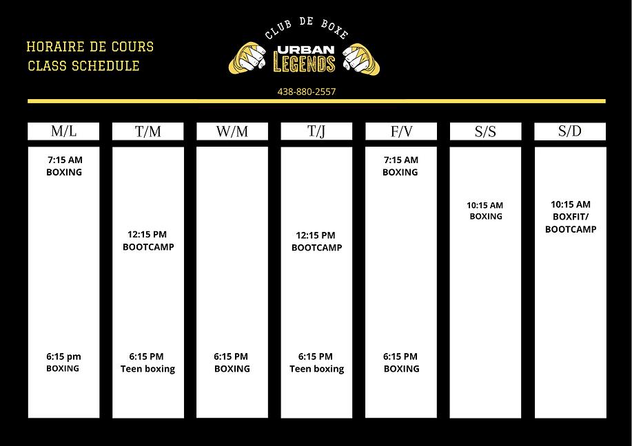 Copy of Cream Brown Simple Class Schedul