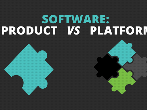 Software vs Platform; Let's solve this once and for all