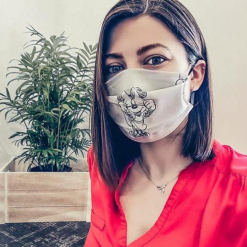 Masque type AFNOR - Minnie