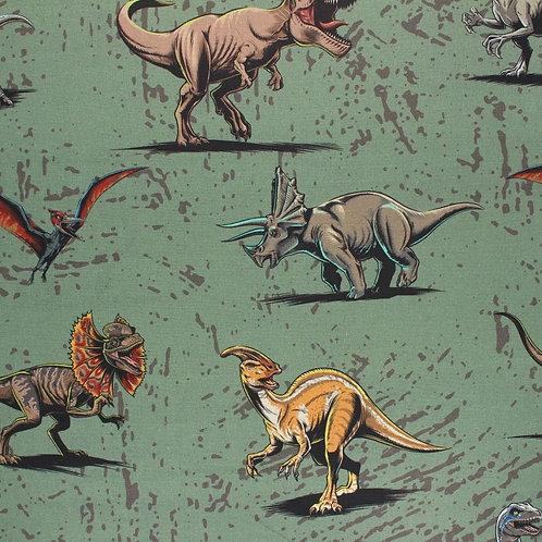 Masque type AFNOR - Dinosaures