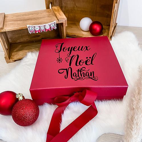 Boite cadeau Deluxe Rouge
