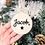 Thumbnail: Boule de Noël en bois - étoile