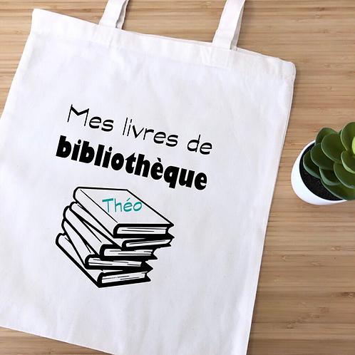 Tote bag Bibliothèque
